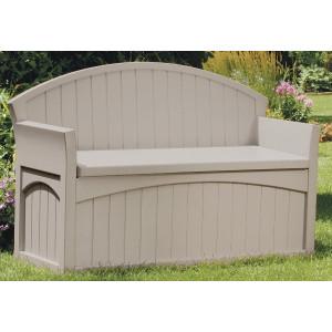 Plastic Garden Storage Bench