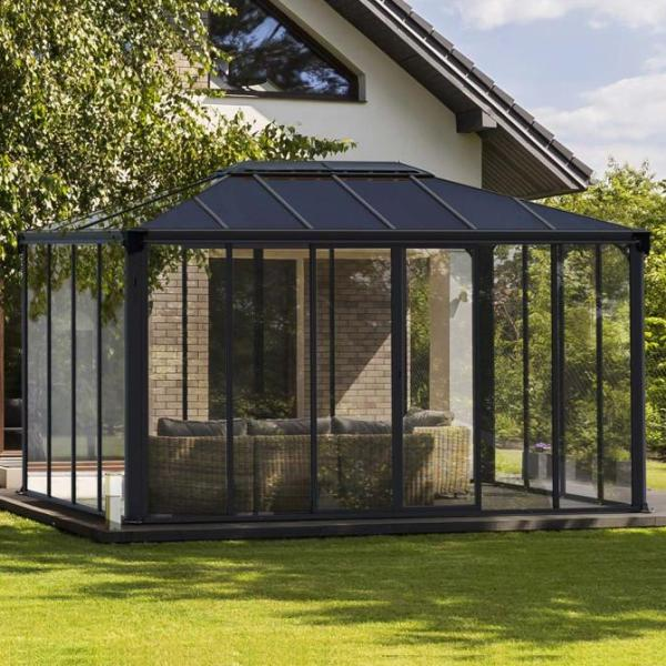 Ledro 4300 Grey Gazebo