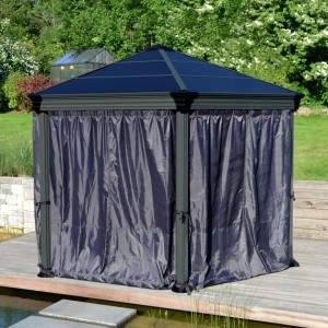 Roma Hexagonal Gazebo Curtain Set