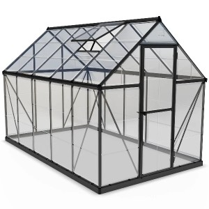 Palram 6 x 10 Harmony Grey Greenhouse