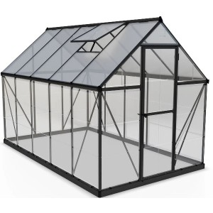 Palram 6 x 10 Hybrid Grey Greenhouse