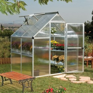 Palram Mythos 6 x 4 Polycarbonate Greenhouse