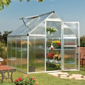 Palram Mythos 6 x 8 Polycarbonate Greenhouse