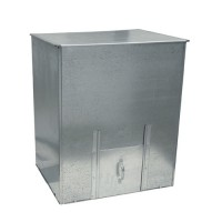 3cwt Galvanised Coal Bunker