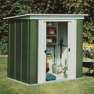 Rowlinson 6 x 4 Metal Pent Shed