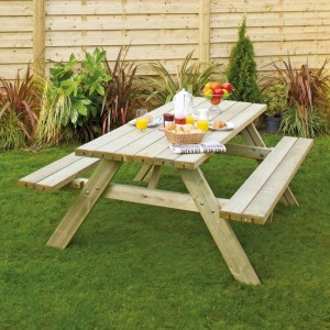 Rectangular Picnic Bench
