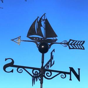 Sailing Boat Weathervane