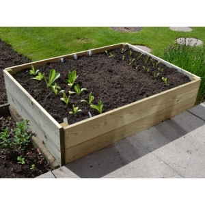 Rectangular Raised Bed