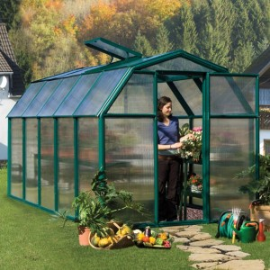 Rion EcoGrow 6 x 10 Greenhouse
