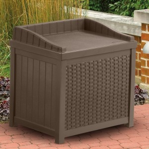Plastic Patio Storage Box