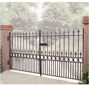 Made to Measure Sandringham Double Gates