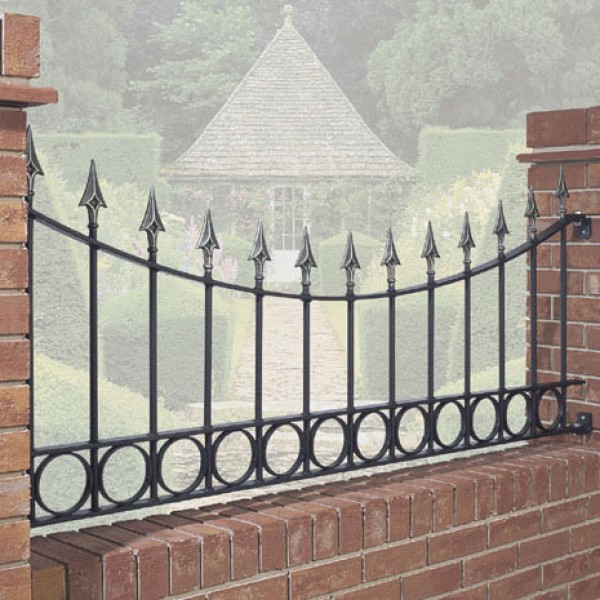 Sandringham Curved Railings