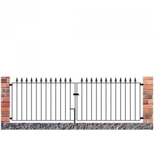 Made to Measure Saxon Flat Top Double Gates