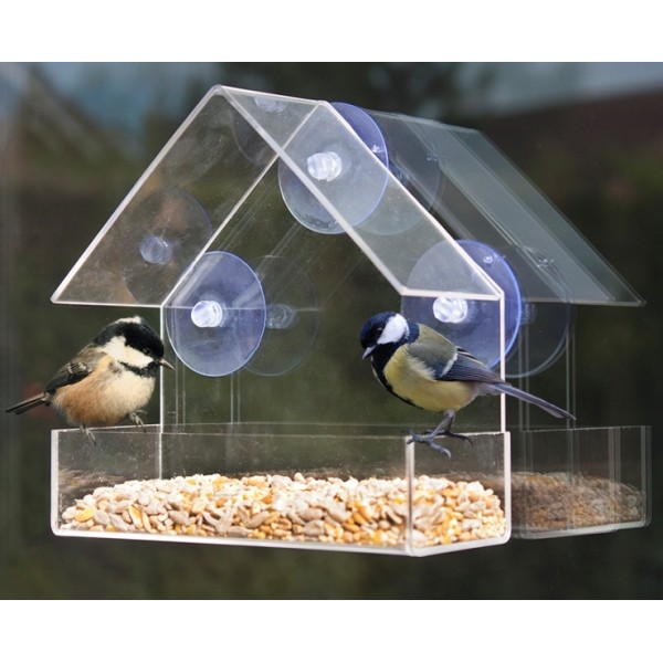 Deluxe Window Bird Feeder