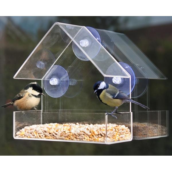 Deluxe Window Bird Feeder