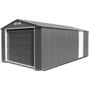 Sapphire Olympian 12ft x 32ft Metal Garage