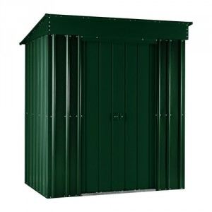 Lotus 6ft x 3ft Metal Pent Shed