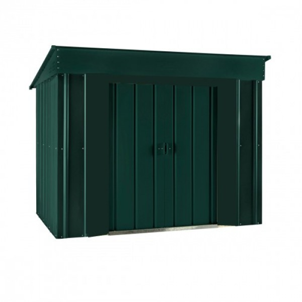 Lotus 6ft x 4ft Low Pent Metal Shed