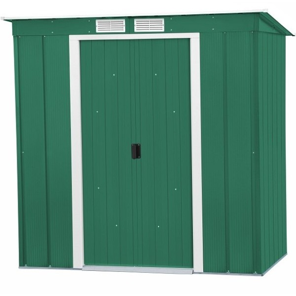 Sapphire 6ft x 4ft Metal Pent Shed