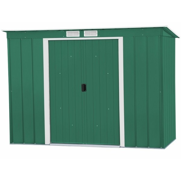 Sapphire 8ft x 4ft Metal Pent Shed