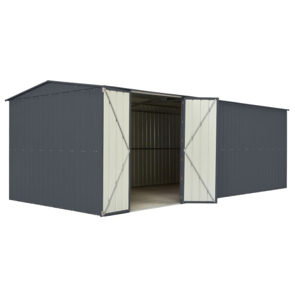 Lotus 10ft x 17ft Metal Apex Shed