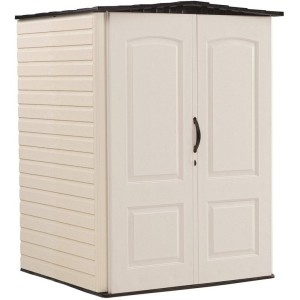 Rubbermaid 5ft x 4ft Plastic Shed
