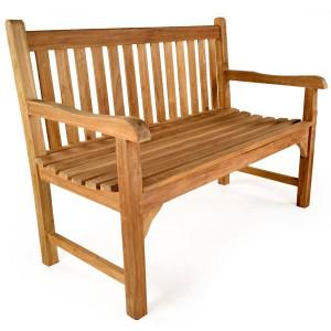 Warwick 2 Seater Teak Bench