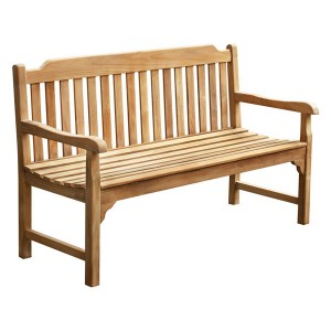 Eden 3 Seater Teak Bench