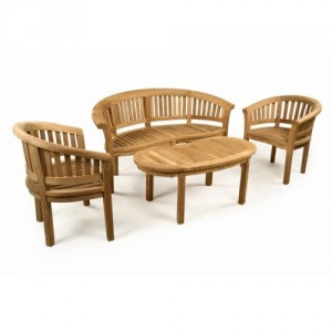 Windsor Teak Coffee Set