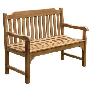 Eden 2 Seater Teak Bench