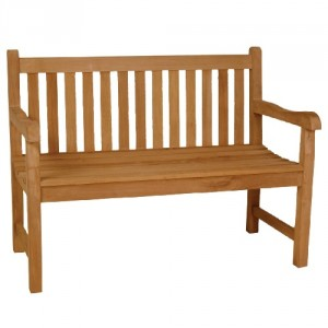 Java 2 Seater Teak Bench