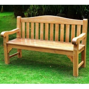 Oxford 3 Seater Teak Bench