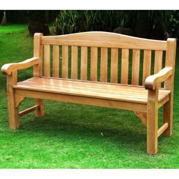 Oxford 3 Seater Teak Bench