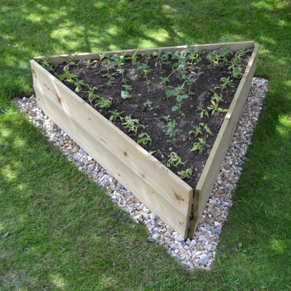 Triangular Raised Bed