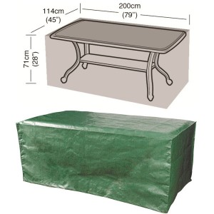8 Seater Rectangular Table Cover
