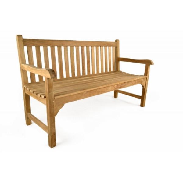 Warwick 3 Seater Teak Bench