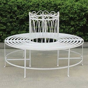 Romance Full Round Tree Bench