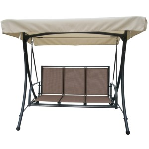 Sorrento 3 Seater Swing Hammock (Taupe)