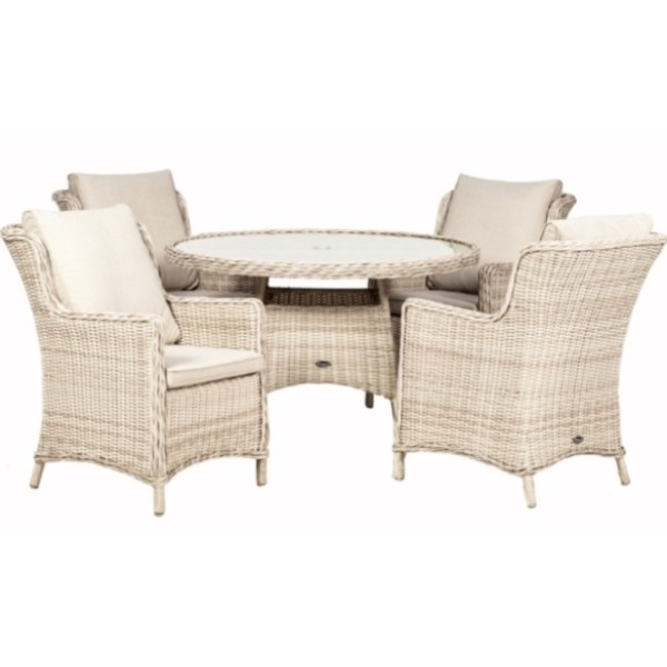 Seychelles 4 Seater Comfort Dining Set