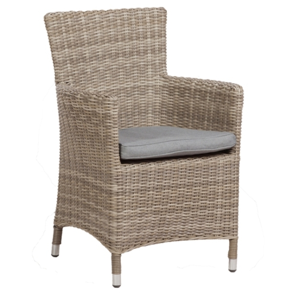 Wentworth Rattan Carver Chair - Pack of 2