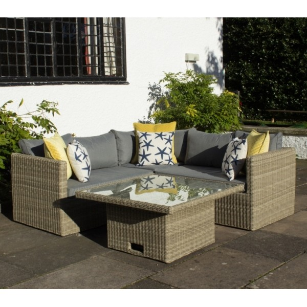 Wentworth Rattan Adjustable Lounging Set (4 Piece)