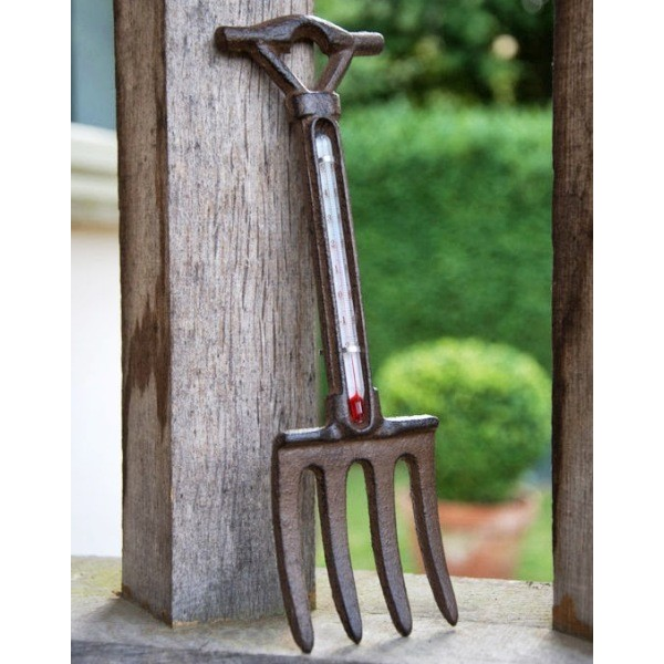 Garden Fork Thermometer
