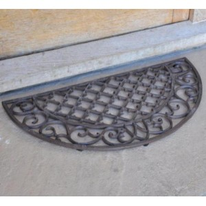 Parisian Cast Iron Doormat