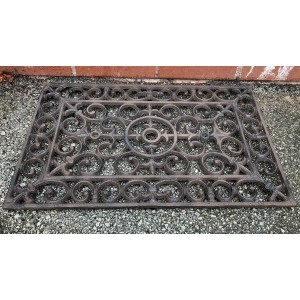 Country Cast Iron Doormat
