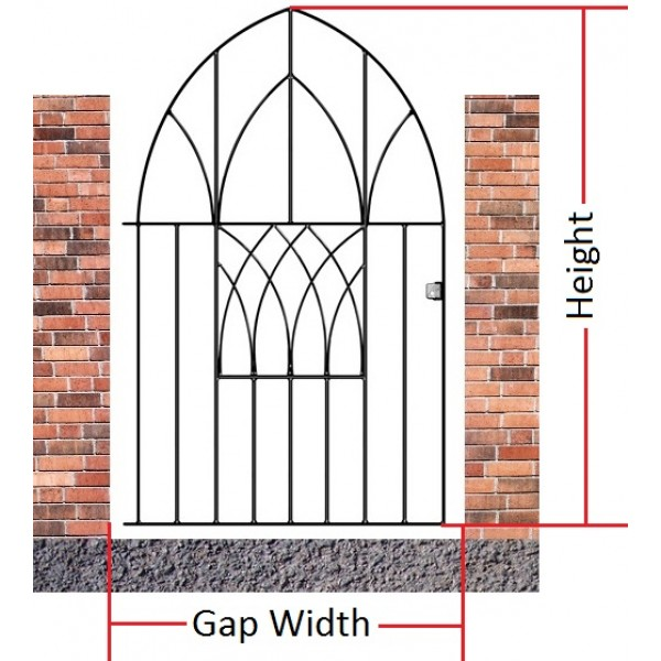 Made to Measure Abbey Low Bow Gate