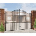 Made to Measure Corfe Bow Top Double Gates