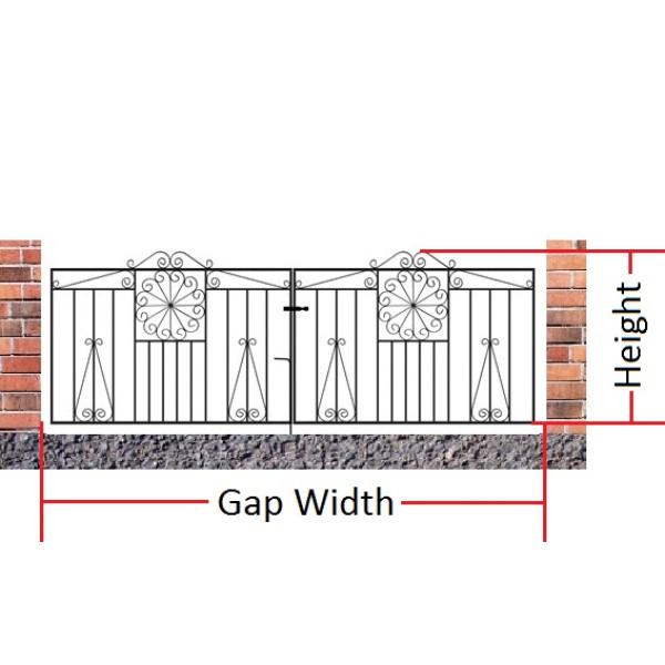 Made to Measure Edinburgh Double Gates