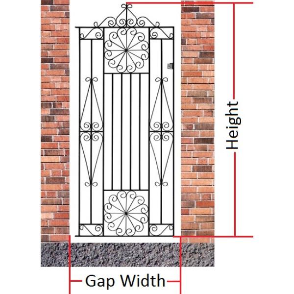Made to Measure Edinburgh Tall Single Gate