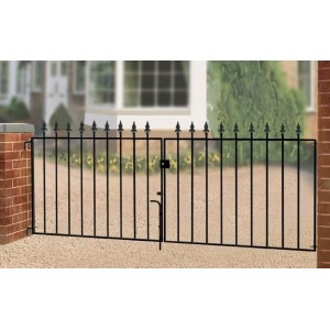 Saxon Flat Top Double Gate