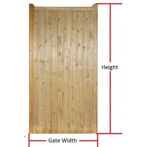Made to Measure Drayton Tall Single Gate